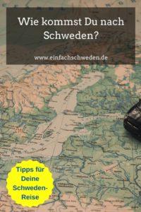 Nach Schweden führen verschiedene Wege, sei es mit dem Auto, dem Bus, der Fähre oder mit dem Flugzeug. Du wirst sicherlich die richtige Alternative für Dich finden. #einfachschweden #anreise #schweden #urlaubinschweden #schwedenurlaub