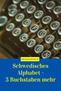 EinfachSchweden Pinterest schwedisches Alphabet