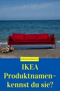 EinfachSchweden IKEA Produktnamen