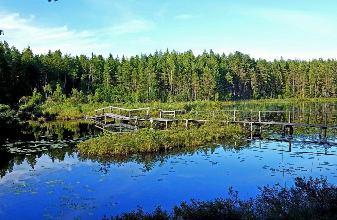 EinfachSchweden Västmanland schwedische Landschaft geprägt durch den Bergbau