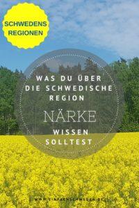 Närke ist eine von 25 Landschaften aus Schweden. Die Provins liegt in Mittelschweden. #einfachschweden #schweden #urlaubinschweden
