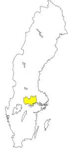 Västmanland schwedische Landschaft