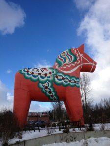 EinfachSchweden dalahäst dalahorse dalapferd Avesta