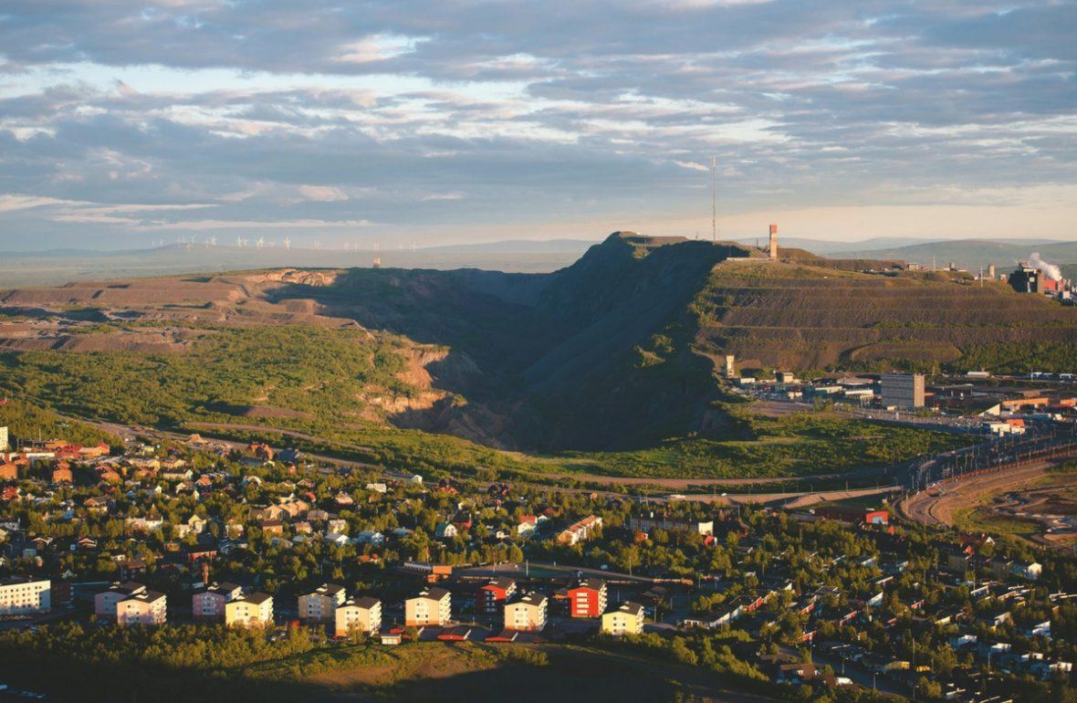EinfachSchweden Kiruna eine Stadt zieht um
