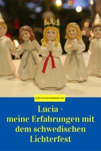 Lucia schwedische Tradition Lichterkönigin Lichterfest