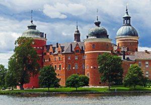 Gripsholm Schloss Södermanland Sörmland Schweden Tucholsky