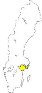 Södermanland Sörmland Landschaft Schweden Svealand
