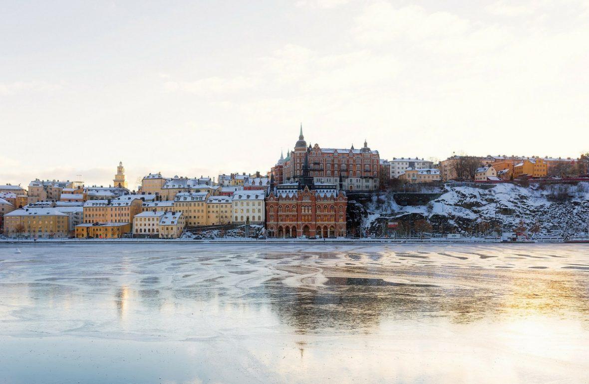 Stockholm im Winter Schweden Sweden Sverige EinfachSchweden