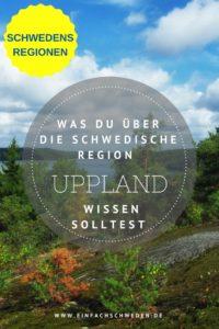 Möchtest Du Dir in Schweden Schlösser und Herrenhäuser anschauen, dann wird Uppland, die schwedische Landschaft sein, die Du besuchen solltest. #uppland #schweden #urlaubinschweden #schwedenurlaub #skandinavien #einfachschweden