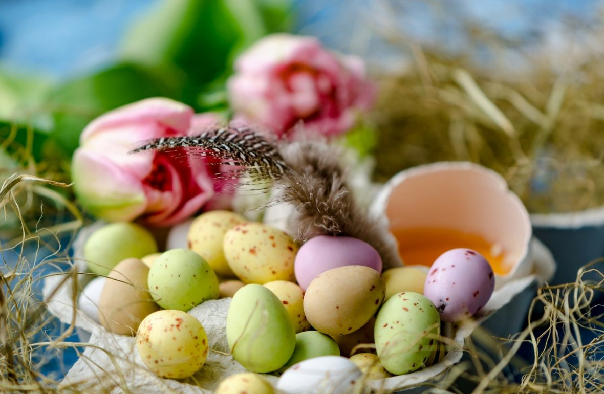 Ostern in Schweden Ostereier Tulpe Frühling