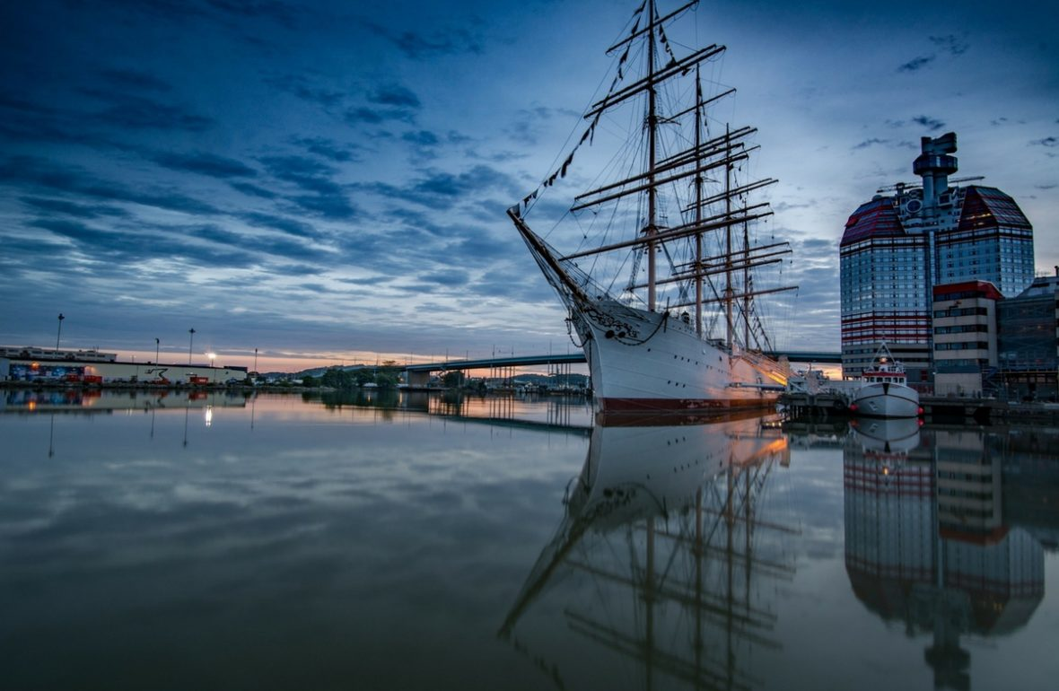 Göteborg Wasser Schiff Göra Älv