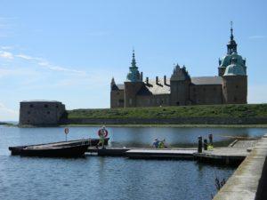 Kalmar Slott Schloss Hafen Wasser