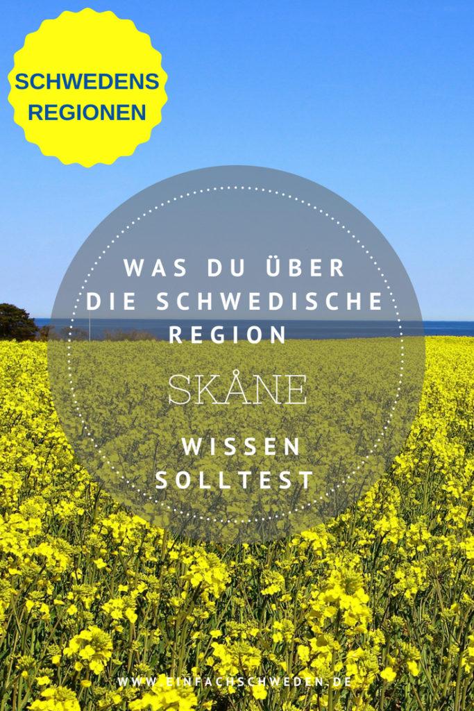 Skåne ist eine der 25 schwedischen Landschaften und für Schweden das Tor zu Europa. #skåne #schweden #urlaubinschweden #schwedenurlaub #skandinavien #einfachschweden