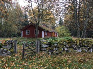 rotes Haus Steinmauer Småland