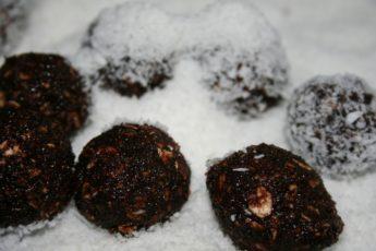 Chokladbollar Kokos Kakao Schokolade Konfekt