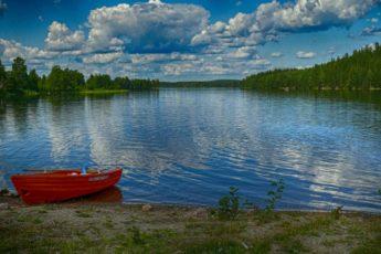 Lagom-Tipps See Wald Boot Schweden