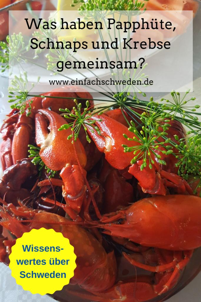 schwedisches Krebsessen Kräftskiva Krebse Tradition