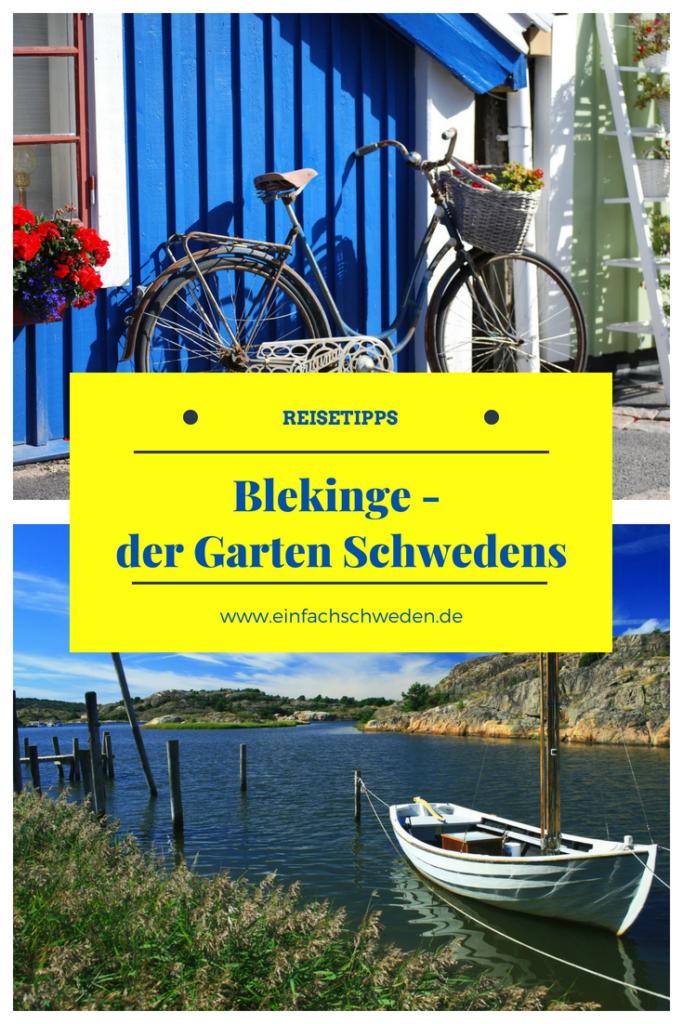 Blekinge, eine der 25 schwedischen Landschaften, wird auch der Garten Schwedens genannt. Hier Urlaub zu machen heißt auch ein milderes Klima vorzufinden als in anderen Gegenden. Und trotz der kleinen Größe gibt es hier einiges zu entdecken. #einfachschweden #Schweden #Urlaubinschweden #Blekinge