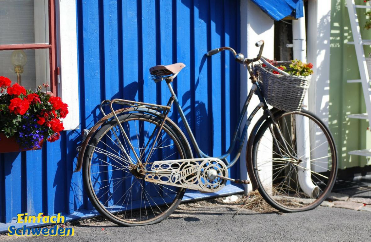 Blekinge Landschaft Provinz Schweden Fahrrad