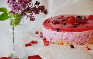 Torte Beeren Kuchen Kaffeezeit