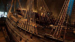 Vasa Museum Stockholm Schiff alt