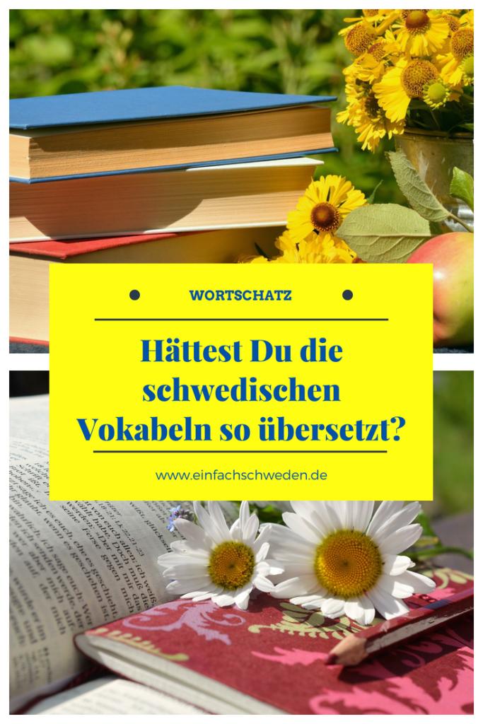 schwedische Vokabeln Idiom Idiome Tiere Schwedisch Bücher Blumen
