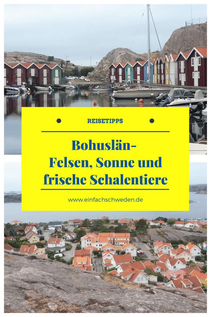 Bohuslän ist die Landschaft in Schweden, die am westlichsten liegt. Sie ist bekannt für ihre Felsen, die vielen Inseln, die faszinierende Natur und die vielen Schwedenhäuser. #einfachschweden #schwedenurlaub #urlaubinschweden #bohuslän