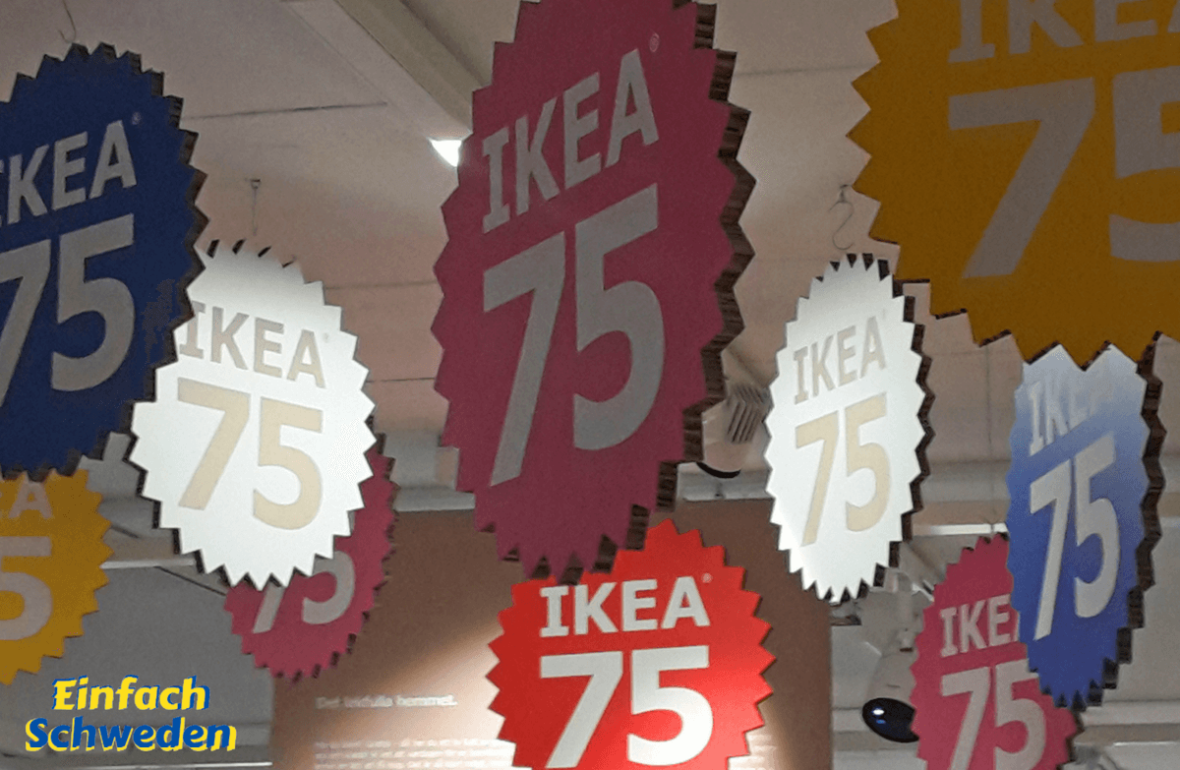 IKEA Älmhult Schweden 75 Jahre Jubiläum