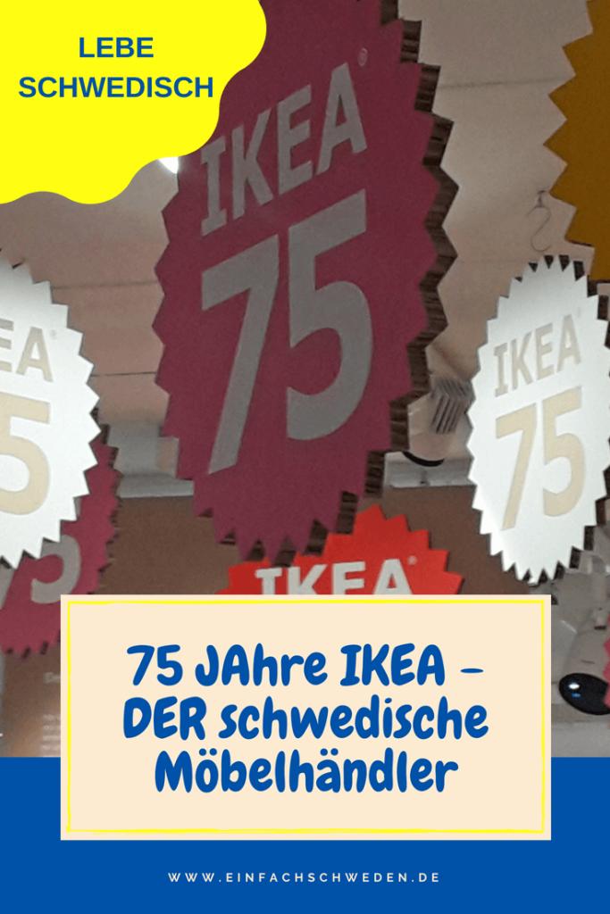 2018 feiert IKEA sein 75-jähriges Bestehen. Bis Ingvar Kamprad zum weltgrößten Möbelhändler wurde hat es etwas gedauert. Seit Jahren werden weltweit immer wieder und neue Einrichtungshäuser eröffnet. #ikea #einfachschweden #möbel #Schweden