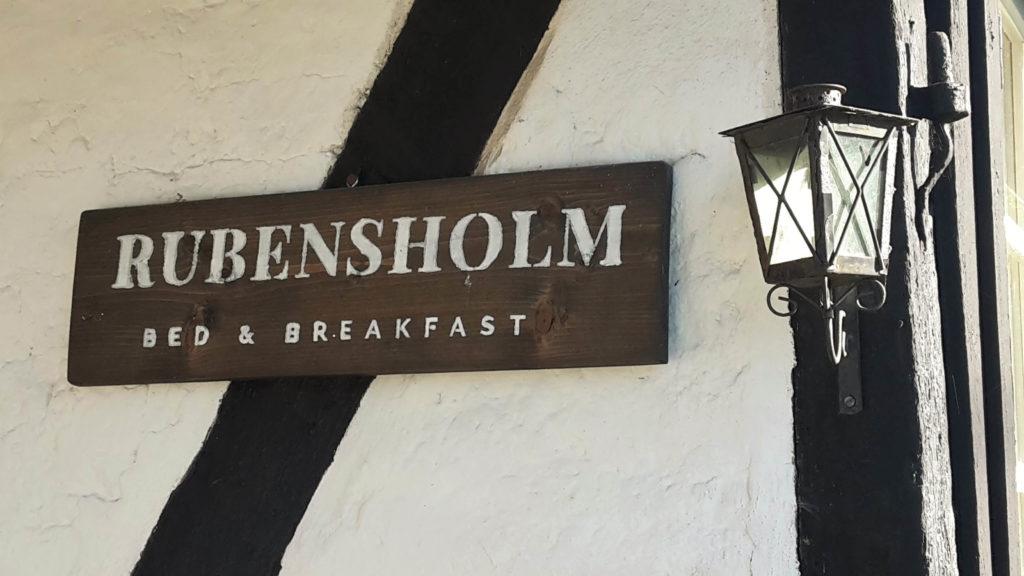 Rubensholm Bed and Breakfast Unterkunft Brösarp Österlen Skåne Schweden