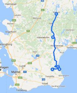 Meine Schweden-Reise im August 2018. Tag 2