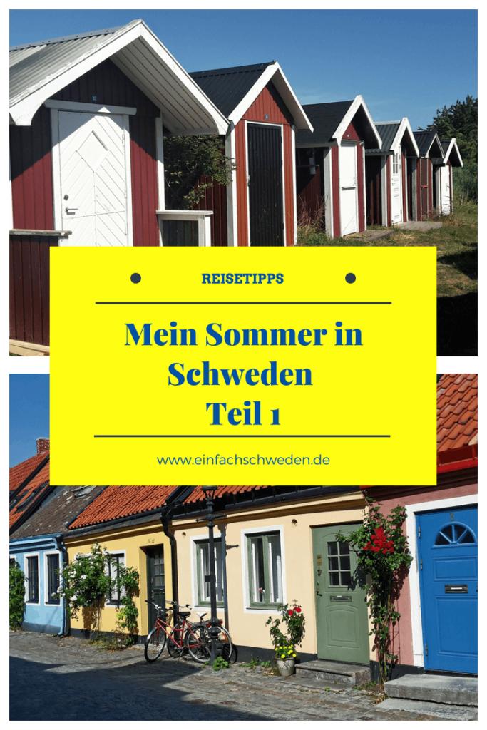Meinen Urlaub in Schweden im Sommer 2018 habe ich in vollen Zügen genossen und sehr viel gesehen und erlebt. In diesem ersten Teil verrate ich Dir schon ein paar Tipps, die Du für Deine nächste Reise einplanen kannst. #einfachschweden #schweden #urlaubinschweden