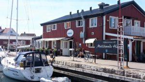 Emmas Café Mollösund Schweden Sverige Sweden Segelboot Hafen