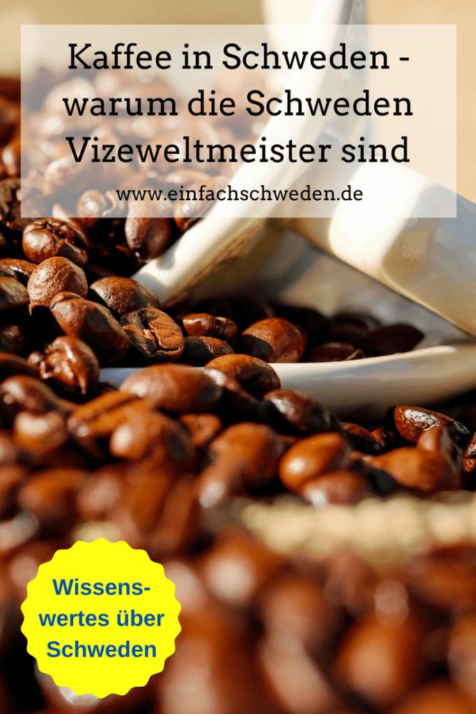 Schweden ohne Kaffee, das ist schwer vorstellbar. Vor allem, weil sie auch die Vizeweltmeister im Kaffeetrinken sind. Lies, wie es dazu kam und wieso auch heute der Trend anhält. #einfachschweden #kaffee #schweden #kaffeeinschweden