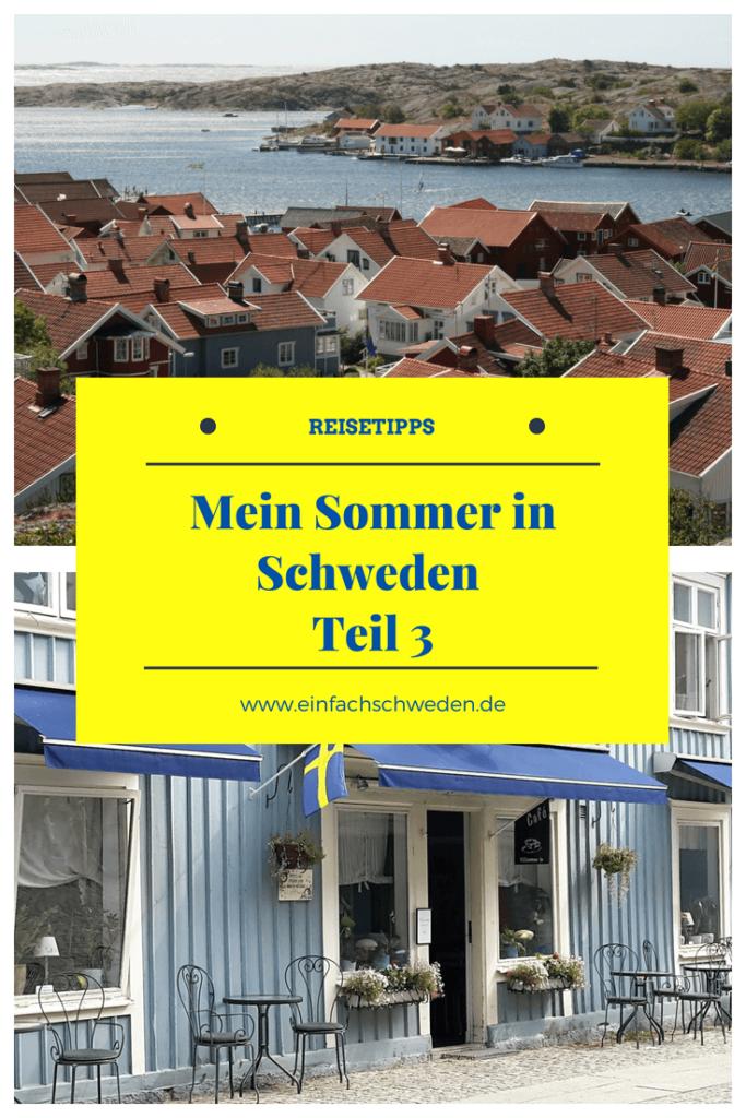 Der dritte Teil von meiner Schwedenreise im Sommer 2018 enthält auch wieder Reisetipps für den Urlaub in Schweden und viele persönliche Eindrücke. Leider war die Reise nach einer Woche Schweden wieder vorbei. Die Erinnerungen an das nordische Land bleiben aber. #einfachschweden #schweden #urlaubinschweden