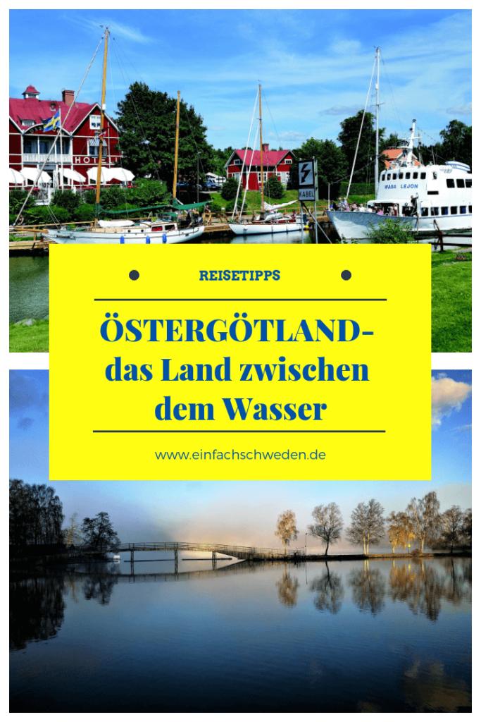Östergötland ist eine schwedische Landschaft, die in Götaland liegt und sich zwischen dem Vättern und der Ostsee befindet. Sie ist geprägt durch den Göta-Kanal und hält viele Sehenswürdigkeiten sowohl für Einheimische als auch Touristen bereit. #einfachschweden #östergötland #schweden #urlaubinschweden #vättern #götakanal