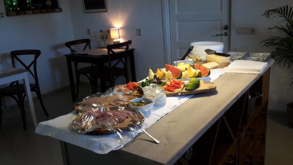 Bed & Breakfast Rubensholm, Schweden Sverige Frühstück