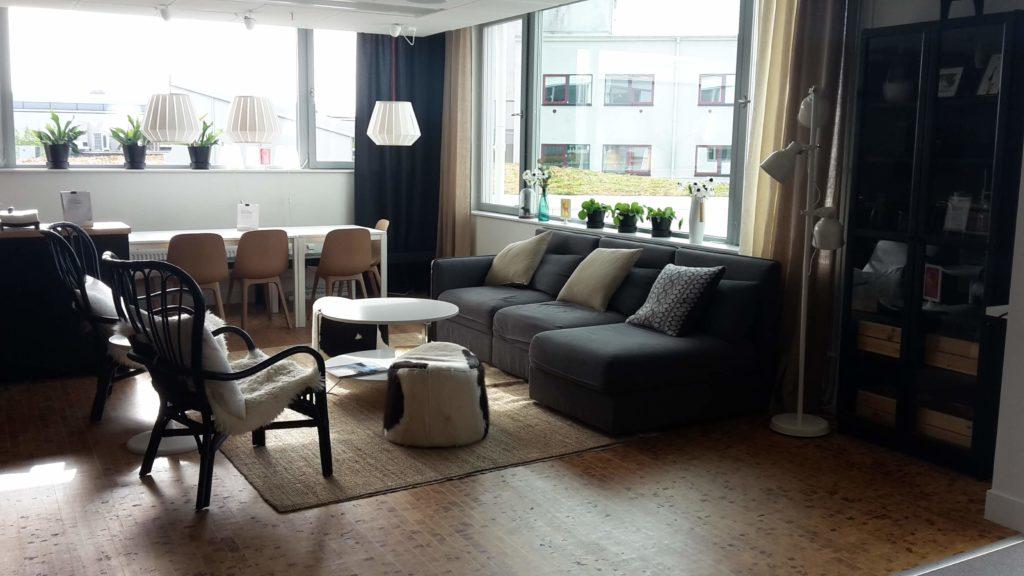 IKEA Hotel Älmhult Schweden Sweden Wohnzimmer Sitzecke