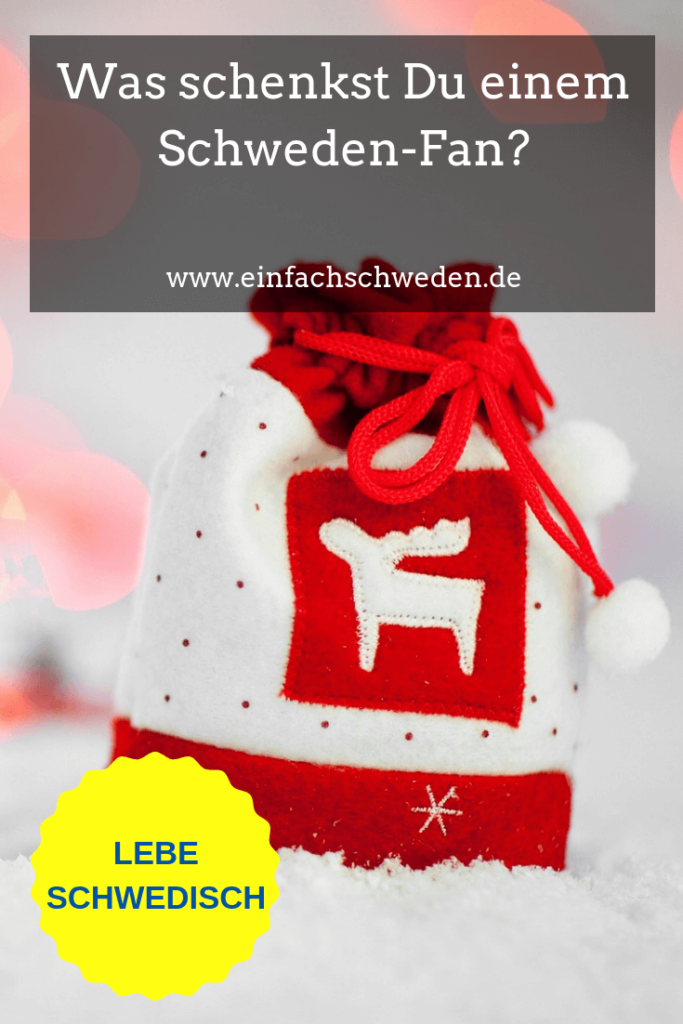 Was kannst Du einem Schweden-Fan zu Weihnachten schenken? Ich gebe Dir ein paar Tipps für Geschenke, die sicherlich gut ankommen. Liebst Du auch Schweden, ist vielleicht auch etwas für Dich dabei? #einfachschweden#geschenke#weihnachtsgeschenke #schwedenfan #schwedenliebe #geschenketipp