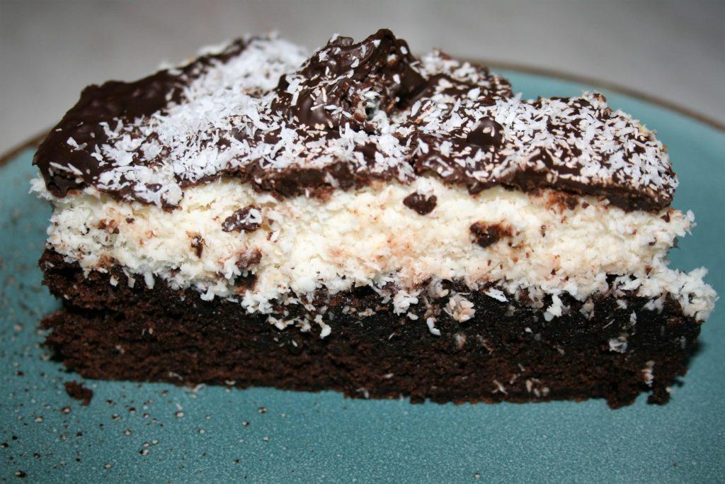 laddkaka Schokokuchen Schokolade Kokos Bounty