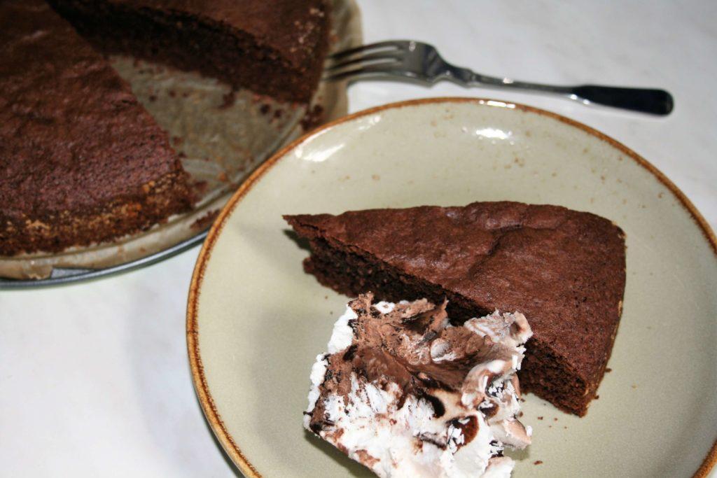 Kladdkaka Kuchen Schokokuchen