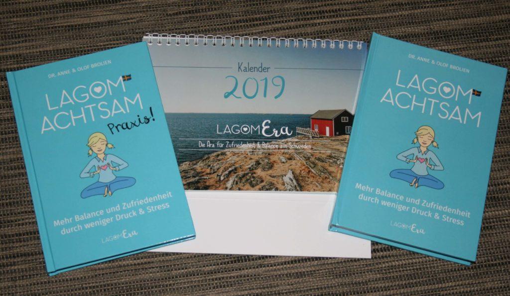 LagomEra Kalender Buch Lagom Achtsam
