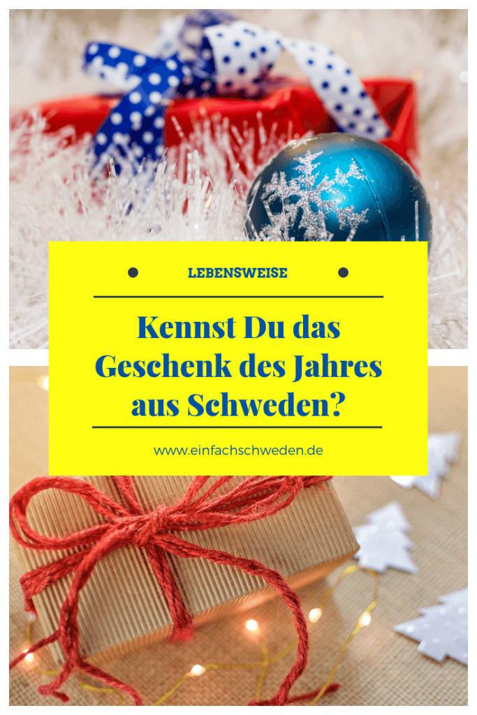 Seit über 30 Jahren wird in Schweden jedes Jahr im November das Weihnachtsgeschenk des Jahres (Årets julklapp) auserkoren. Ob das eine PR-Aktion ist, um den Verkauf anzukurbeln, sei dahin gestellt. Es befinden sich auf jeden Fall viele interessante Produkte auf der Liste der Auserwählten. #einfachschweden #geschenk #geschenke #weihnachtsgeschenke #schweden #åretsjulklapp #julklapp #geschenktipp