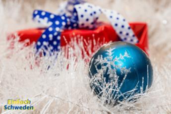 Weihnachtsgeschenk des Jahres Schweden Geschenk Weihnachtskugel