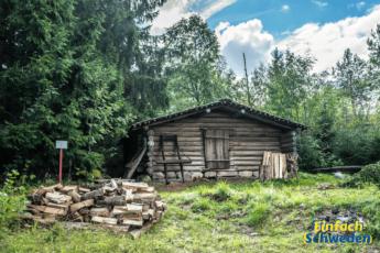 Medelpad Landschaft Schweden Provinz Holzhaus Wald