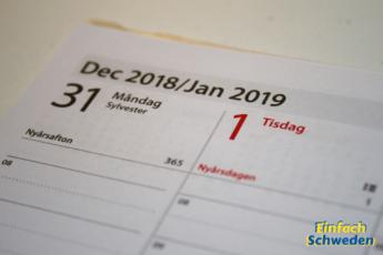 Schwedische Feiertage Kalender Flaggentage