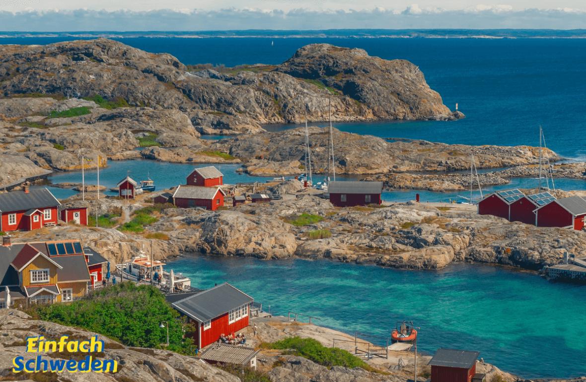 Sprichwörter Sprichwort Redewendung Schweden Landschaft Schären