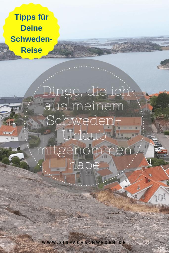 In jedem Urlaub erlebst Du neue Dinge und bringst sie als spezielles Mitbringsel mit nach Hause. So habe ich auch ein paar Dinge in meinem Schweden-Urlaub erlebt, die ich gerne mit Dir teilen möchte. #einfachschweden #schweden #schwedenurlaub #schwedenreise #urlaub #mitbringsel