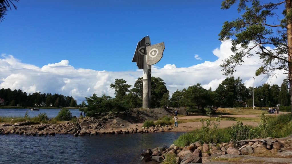 Picasso Statue Kristinehamn Schweden