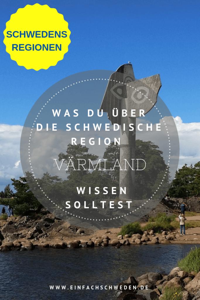 Värmland ist eine der 25 Landschaften in Schweden und gehört zu Svealand. Als Nachbar von Norwegen hat der Urlauber die Chance auch in das Nachbarland einen Abstecher zu machen. Das ist aber nicht nötig, da es in Värmland viel zu sehen und entdecken gibt. #einfachschweden #värmland #schweden #urlaubinschweden #schwedenreise